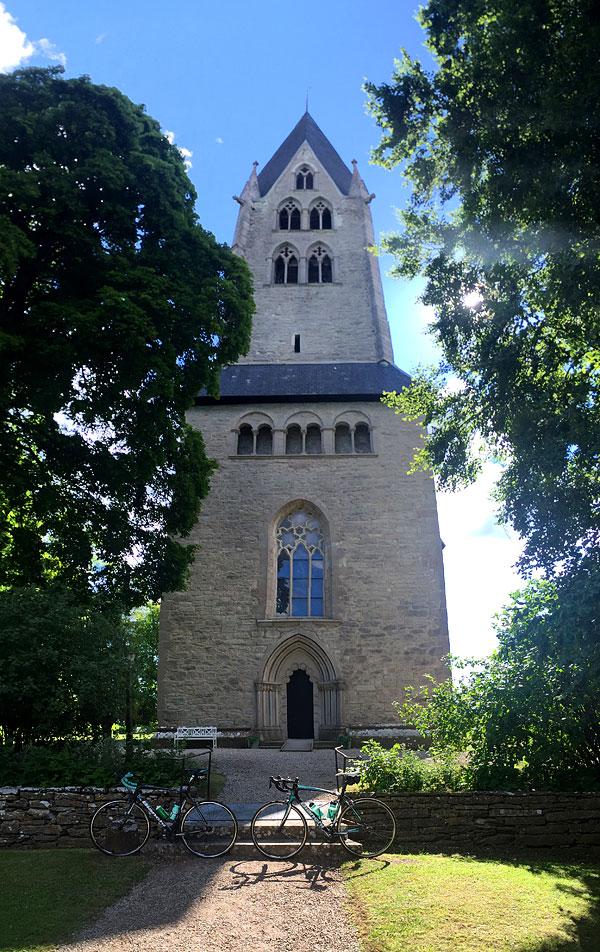 Bianchipaus vid Dalhems kyrka